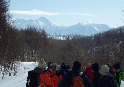 富良野岳と前富良野岳